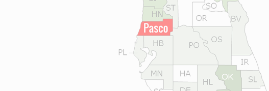 Pasco County Map